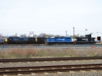 CSX 8817 and 380